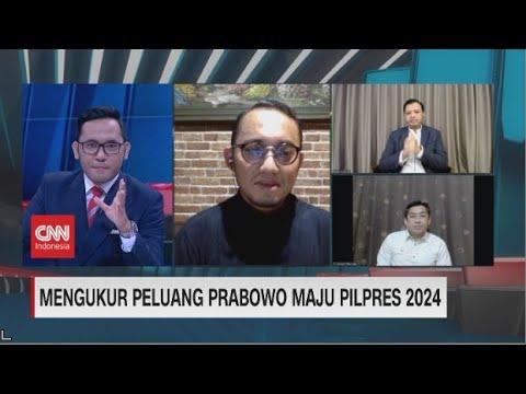 Prabowo Maju Pilpres 2024, Danhil : Seluruh Kader Meminta Prabowo Maju Kembali