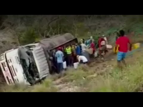 Ya son diez los muertos por la explosión de un camión cisterna en Magdalena