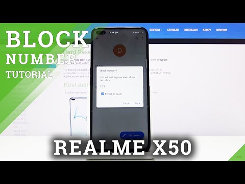 How to Block Number in REALME X50 5G – Block Calls
