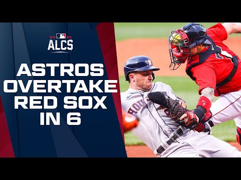 Astros take down Red Sox in 6 games to return to World Series! | ALCS Game Highlights
