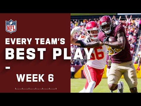 Every Team's Best Play From Week 6 | NFL 2021 Highlights