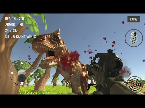 hqdefault Dinosaur Hunter Dino City 2017 Android Gameplay #5 Technology