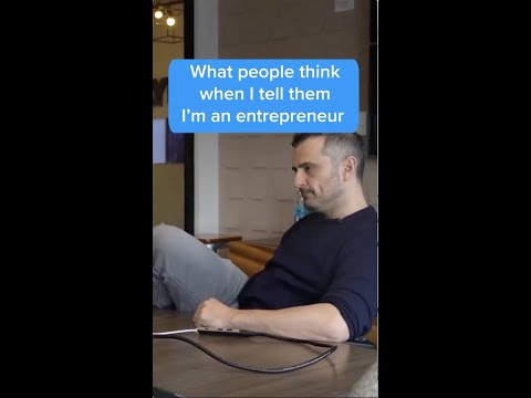 What People Think When I Tell Them I'm an Entrepreneur #Shorts