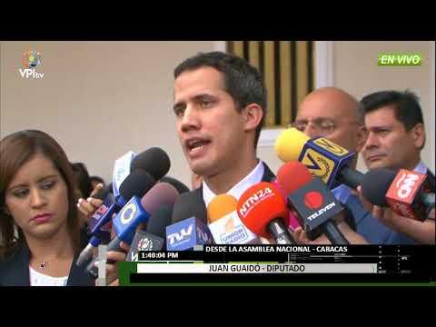 Venezuela - Diputados se pronuncian sobre acusaciones a Florido y Borges  - VPItv