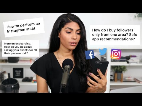 Social Media Manager Q&A: Buying Followers, Client Onboarding + More!