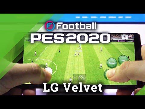 PES Mobile on LG Velvet – Pro Evolution Soccer Gameplay