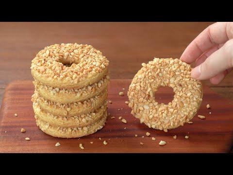 초보도 실패하지 않는 땅콩버터쿠키 만들기 :: 쉽지만 정말 맛있는, 기본 버터쿠키 :: Peanut Butter Cookies :: Homemade Cookie Recipe