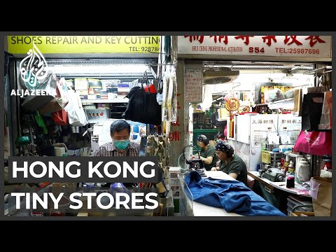 Why Hong Kong's traditional under-stairs shops are disappearing
