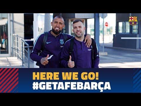 Trip to Madrid ahead of LaLiga match against Getafe