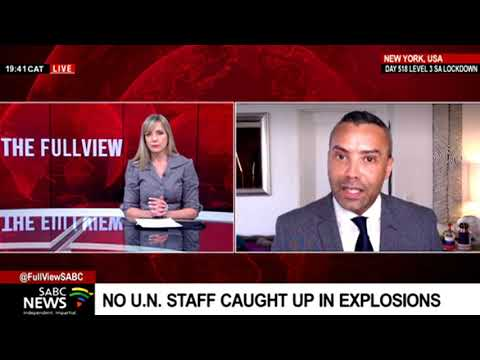US' response to the Kabul explosion: Sherwin Bryce-Pease