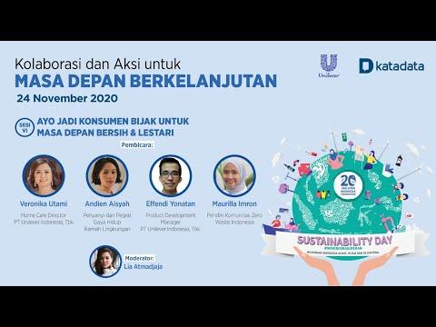 Sesi 6 Unilever Katadata: Sustainability Day 2020