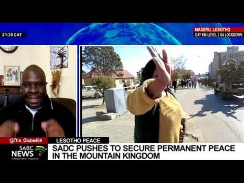 Dikgang Moseneke's intervention in Lesotho ahead of the SADC meeting: Rapelang Radebe