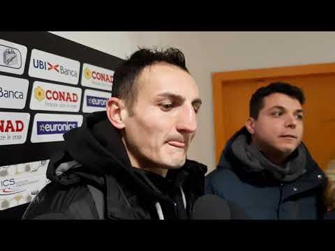 Mister Marco Masi ed Emilio Dierna nel post Arezzo-Pianese