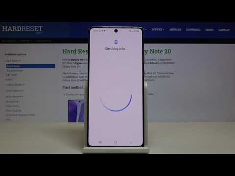 How to Activate Google Backup in SAMSUNG Galaxy Note 20 - Allow Backup Data