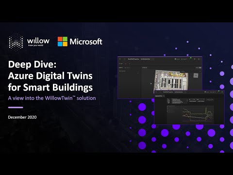 Deep Dive: Azure Digital Twins for smart buildings: A look into WillowTwin solution