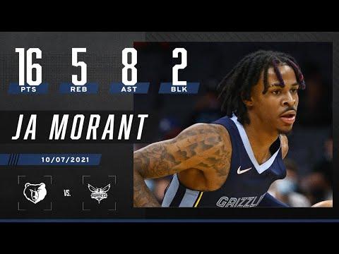 Ja Morant puts up 16 PTS & 8 AST in Grizzlies' win vs. Hornets