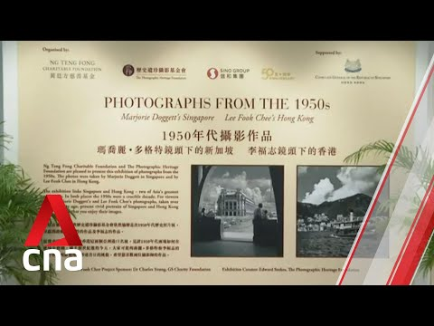 Photo exhibition of Singapore and Hong Kong in the 1950s showcases cities' rich, shared history