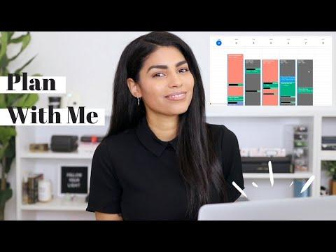 How I Block My Calendar (Plan My Week With Me!)