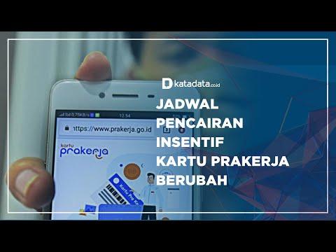 Jadwal Pencairan Insentif Kartu Prakerja Berubah | Katadata Indonesia