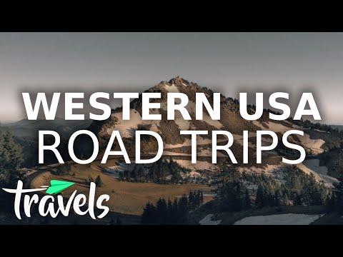 Top 10 Western Road Trips USA 2020-2021 | MojoTravels