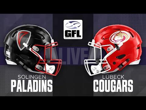 GFL2 Spiel der Woche: Solingen Paladins - Lübeck Cougars
