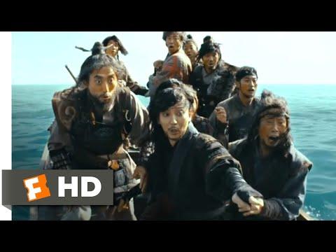 The Pirates (2014) - Shark vs. Pirates Scene (5/10)   Movieclips