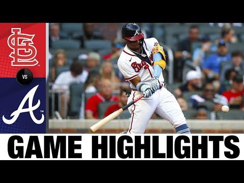 Cardinals vs. Braves GM2 Game Highlights (6/20/21) | MLB Highlights