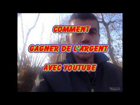Comment gagner de l'argent avec youtube
