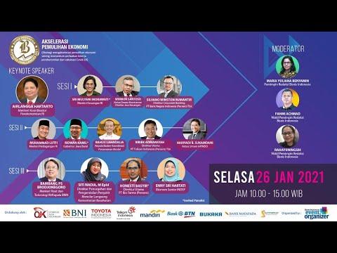 "Bisnis Indonesia Business Challenges 2021 ""Akselerasi Pemulihan Ekonomi"" Sesi III"