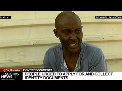 LGE 2021 I South Africans urged to apply and collect IDs