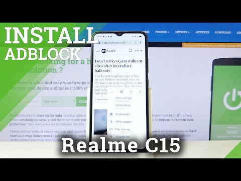 How to Install AdBlock in REALME C15 -  Get Rid of Advertisements