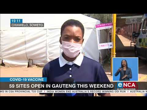 COVID-19 vaccines | 59 sites still open in Gauteng this weekend