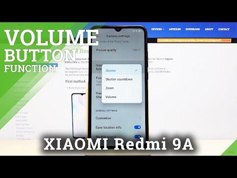 Xiaomi Redmi 9A   Change Volume button function in camera
