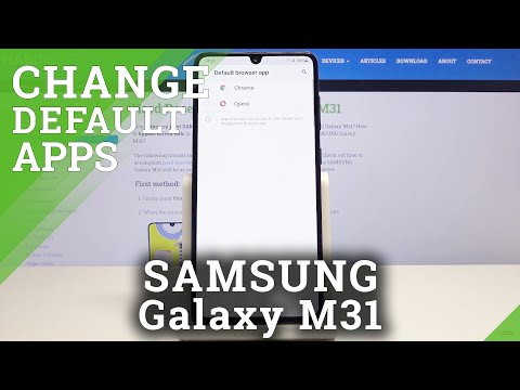 How to Set Up Default Browser in SAMSUNG Galaxy M31 – Default Internet Browser