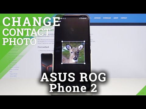 How to Add Photo to Contact in ASUS ROG Phone 2 – Personalize Contact Profile