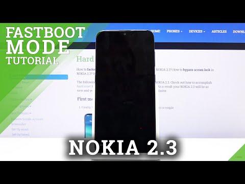 NOKIA 2.3 Fastboot Mode