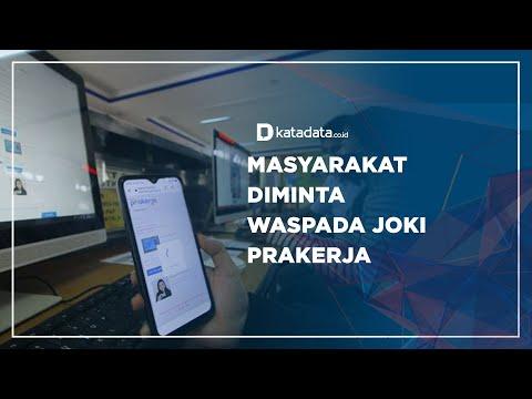 Masyarakat Diminta Waspada Joki Prakerja | Katadata Indonesia
