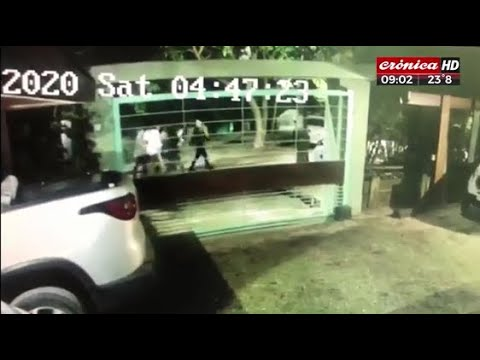 Video impactante: así huían los rugbiers tras matar a Fernando