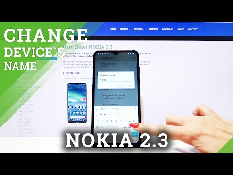 How to Change Device Name on Nokia 2.3 – Rename Smartphone