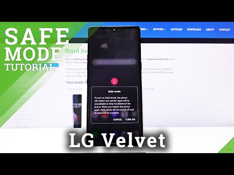 How to Enter Safe Mode in LG Velvet – Disable Third-party Apps