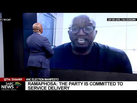 ANC Manifesto Launch I Ramaphosa unveils the ANC's 5-year action plan: Sandile Swana