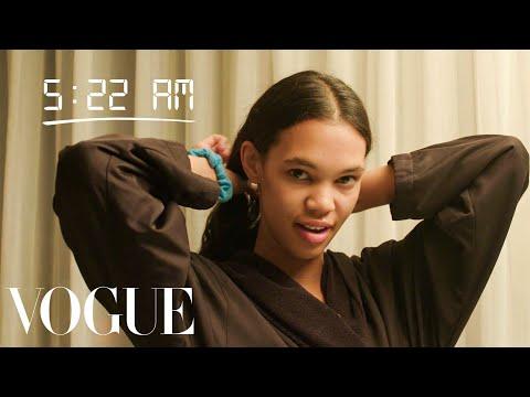 How Top Model Jordan Daniels Gets Runway Ready | Diary of a Model | Vogue