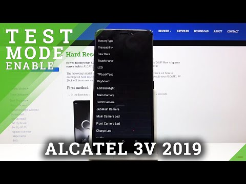 How to Enter Test Mode in ALCATEL 3V 2019 – Test Your Device