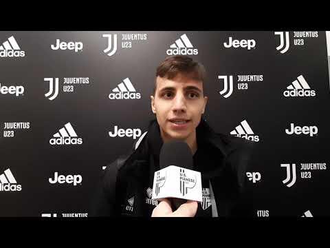 Carlo Manicone e Gabriele Vavassori nel post Juventus U23-Pianese