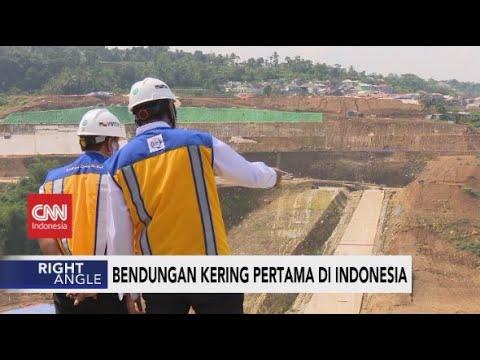 Bendungan Kering Pertama di Indonesia - Right Angle