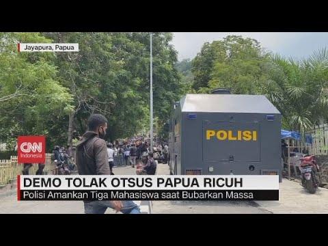Demo Tolak Otsus Papua Ricuh