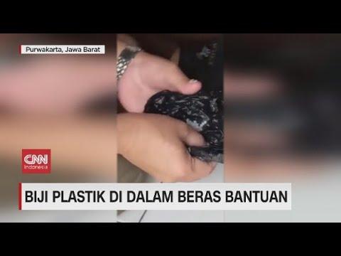 Biji Plastik di Dalam Beras Bantuan