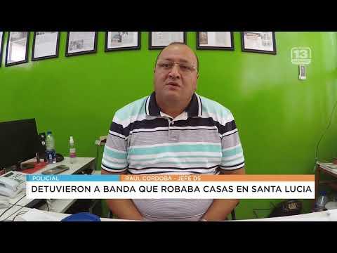 Megaoperativo: cayó una banda que realizaba entraderas en Santa Lucía