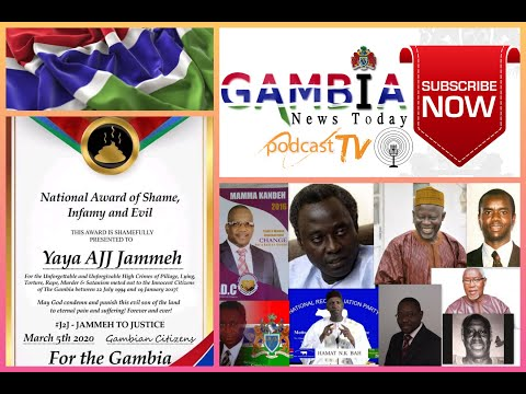 GAMBIA NEWS TODAY 9TH MARCH 2020