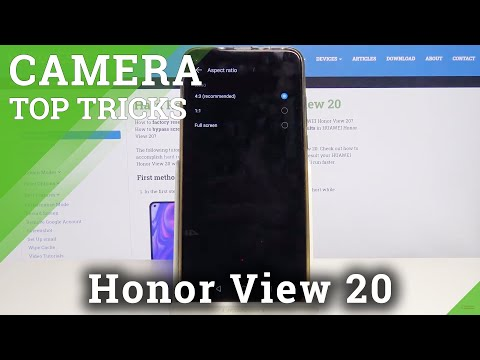 Find Out Top Camera Tricks on Honor View 20